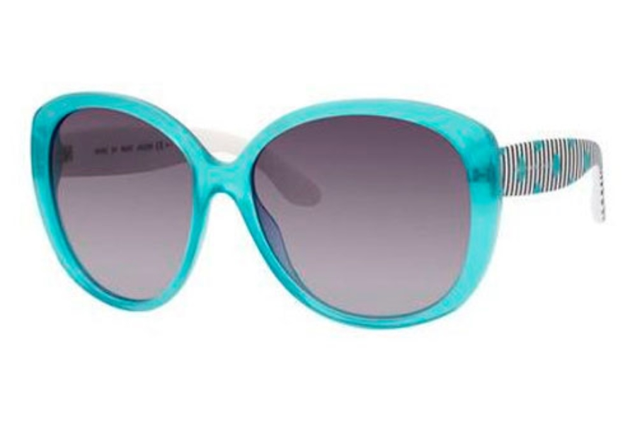 Marc By Marc Jacobs MMJ 359/S Sunglasses in 045A Turquoise (EU gray gradient lens)