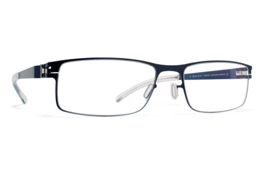 1329b042500 Mykita Nigel Eyeglasses in Night Sky Silver Edge (Discontinued) ...