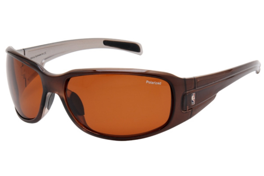 NBA NBAS204 Sunglasses in BRN Brown w/ Brown Lenses