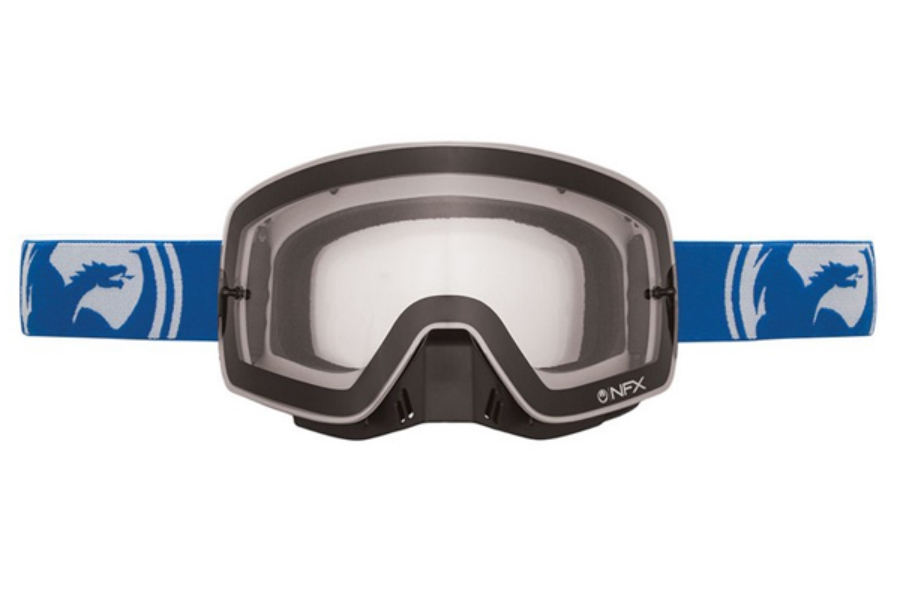 Dragon NFX - Continued Goggles in BLUE WHITE SPLIT/ CLEAR