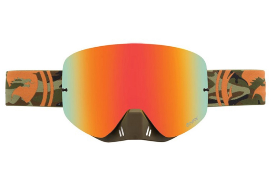 Dragon NFX - Continued Goggles in CAMO/RED IONIZED
