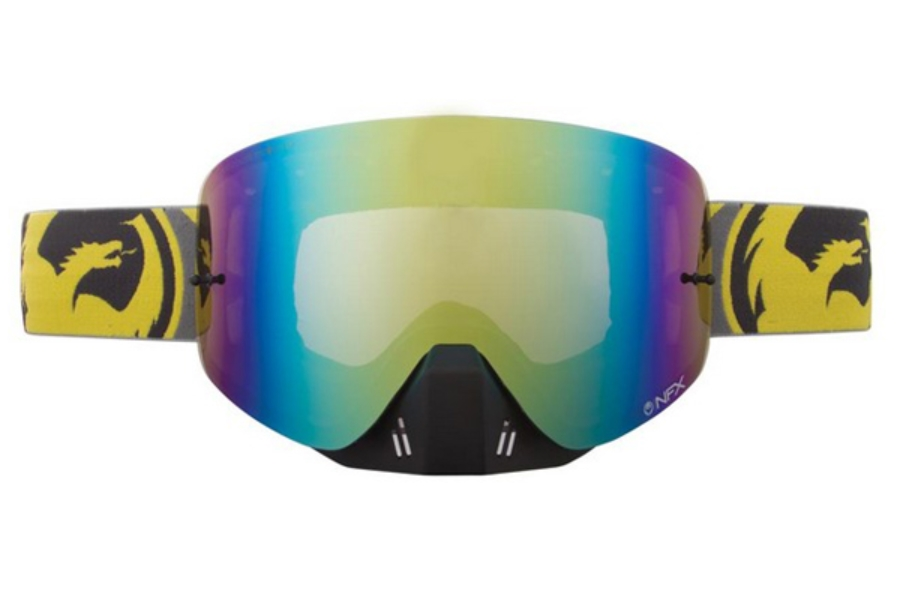 Dragon NFX - Continued Goggles in FLAIR YELLOW / GOLD ION