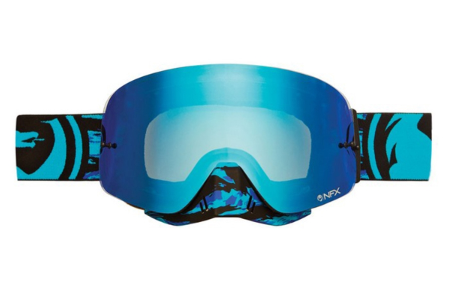 Dragon NFX - Continued Goggles in FRENZY/ BLUE STEEL