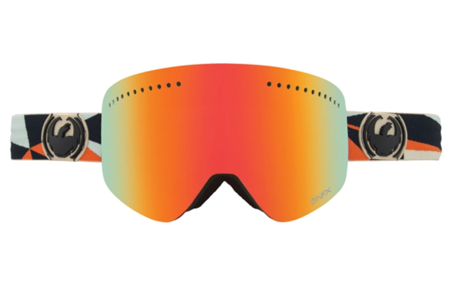 Dragon NFX - Continued Goggles in DAP / RED ION+BLUE STEEL