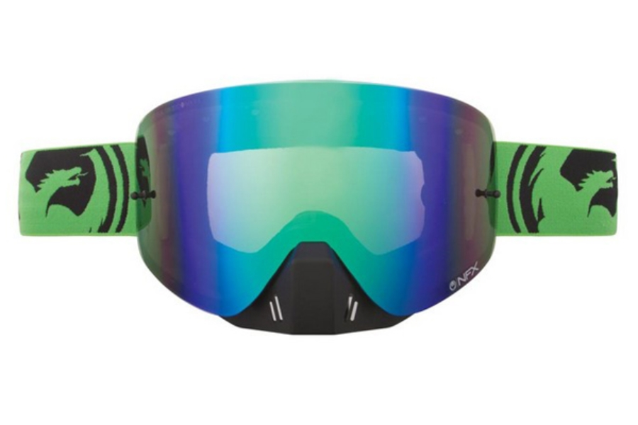 Dragon NFX - Continued Goggles in GREEN SPLIT / GREEN ION