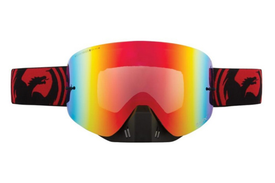 Dragon NFX - Continued Goggles in JET RED SPLIT / RED ION