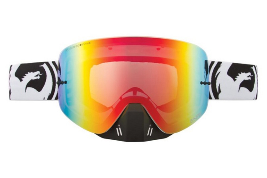 Dragon NFX - Continued Goggles in VOX BLACK WHITE/RED ION