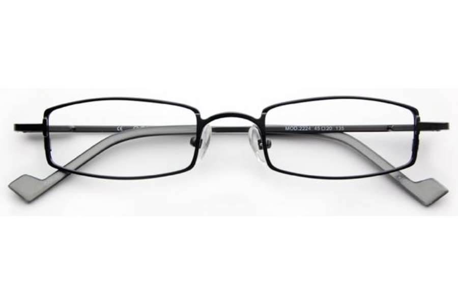 OGI Eyewear 2224 Eyeglasses in 977 - Dark Gray/Steel