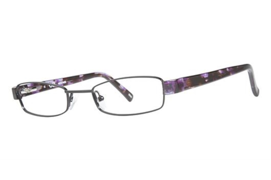 OGI Eyewear 2231 Eyeglasses in 1239 BLACK/PURPLE CHOP