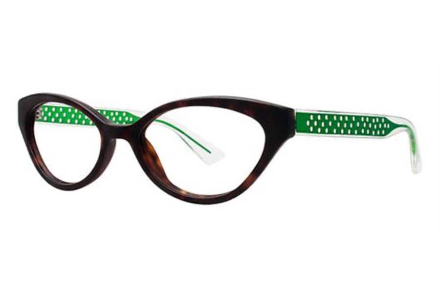 OGI Eyewear 9201 Eyeglasses in 1606 Dark Brown / Tortoise Green