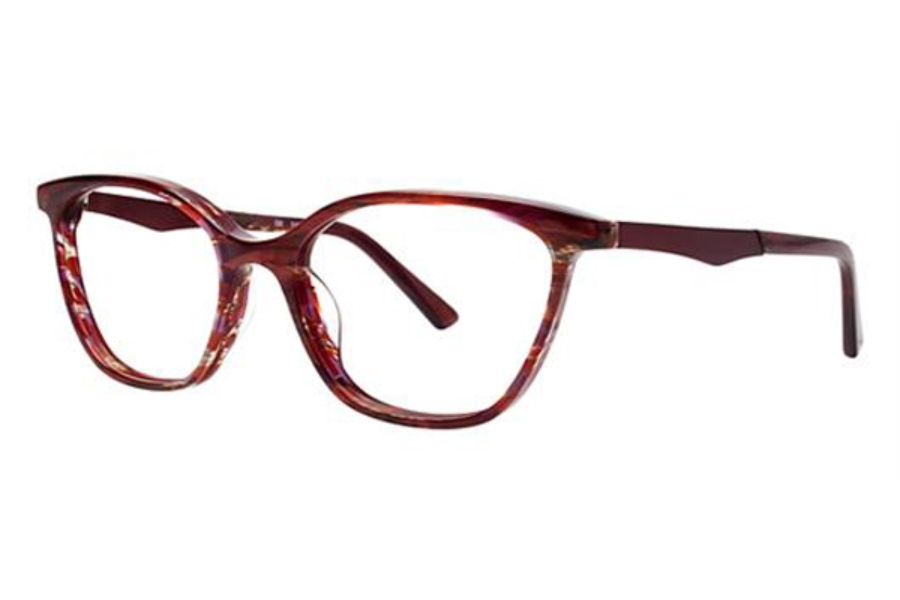 OGI Eyewear 9203 Eyeglasses in 1630 Cranberry Tiger / Burgundy