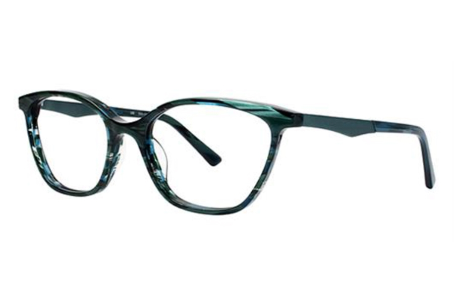 OGI Eyewear 9203 Eyeglasses in 1631 Green Tiger / Seafoam