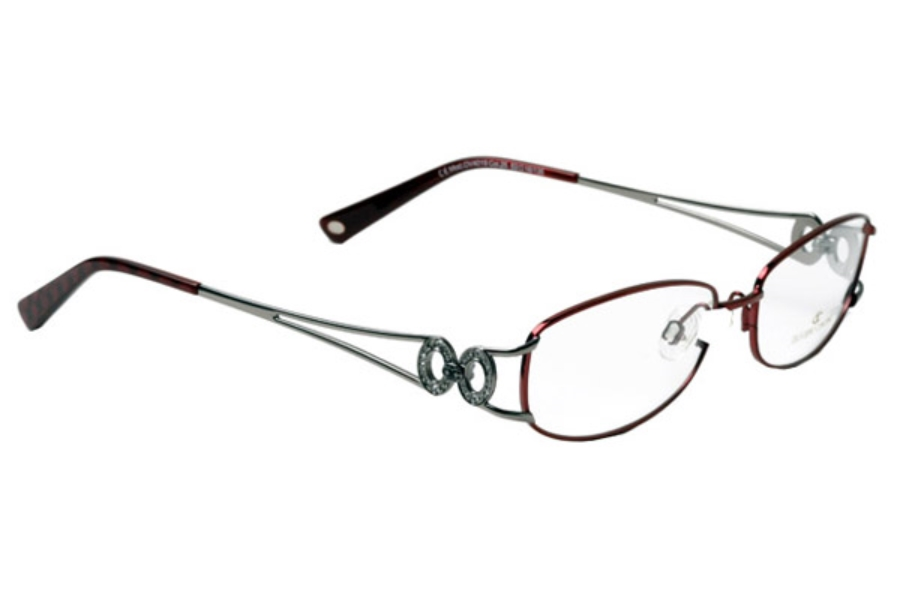 Oliviero Contini 4019 Eyeglasses in Burgundy/Grey (C25)