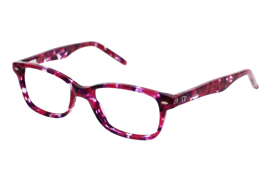 0411a84f4de ... OP-Ocean Pacific Kids OP 817 Eyeglasses in Pink Multi ...
