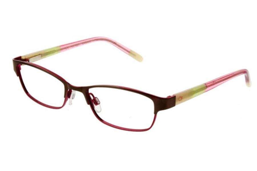 OP-Ocean Pacific Kids OP 827 Eyeglasses in Brown