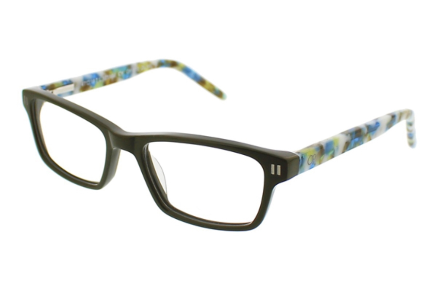 OP-Ocean Pacific Kids OP 852 Eyeglasses in Olive