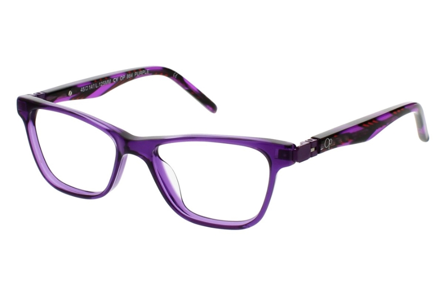 OP-Ocean Pacific Kids OP 864 Eyeglasses in Purple