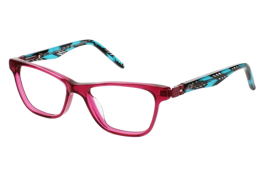 OP-Ocean Pacific Kids OP 864 Eyeglasses in Raspberry