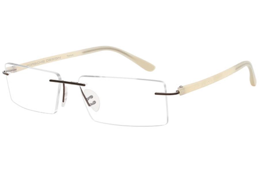 c5f01871403 ... Porsche Design P 8205 S2 Eyeglasses in C Dark Brown