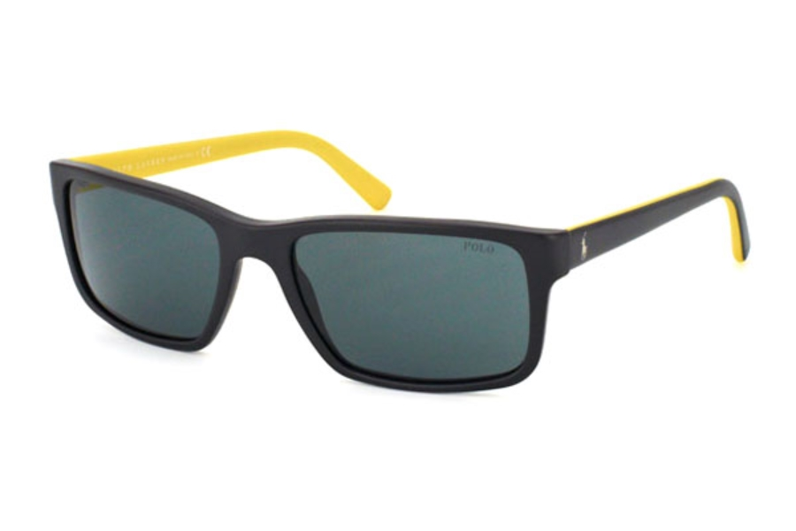 9a0b795f42f4 Polo PH 4076 Sunglasses in 543481 Matte Black Polar Grey; Polo PH 4076  Sunglasses in Polo PH 4076 Sunglasses ...