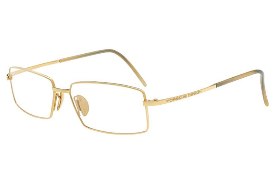 27cdd2d081fa ... Porsche Design P 8106 18KT Gold Eyeglasses in Porsche Design P 8106 18KT  Gold Eyeglasses ...