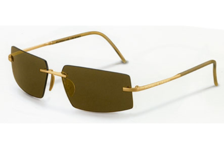 Porsche Design P 8447 18KT Gold Sunglasses in Porsche Design P 8447 18KT Gold Sunglasses
