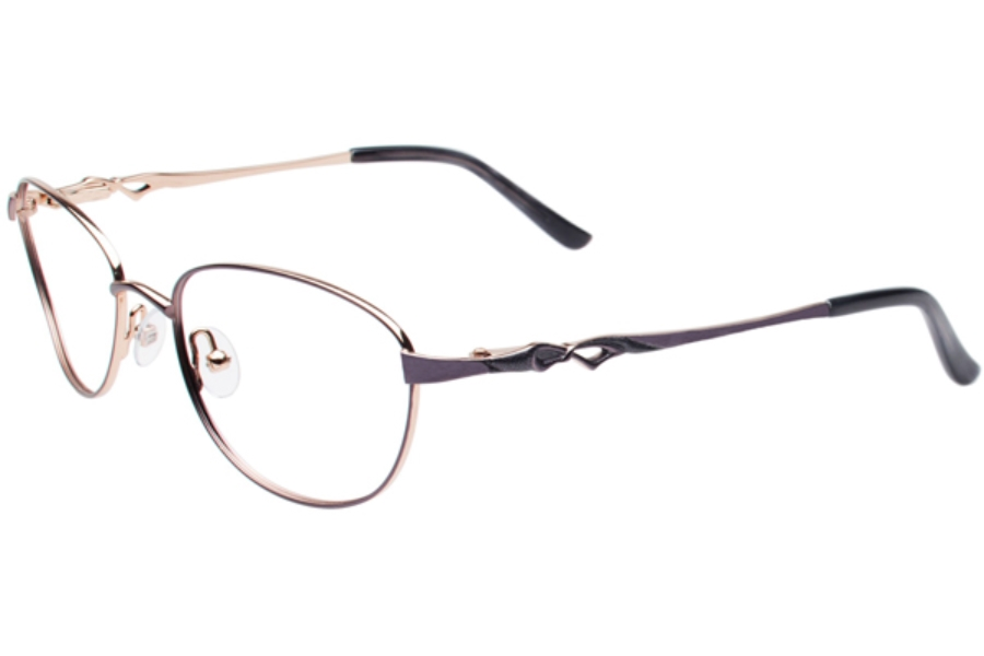Port Royale Anabelle Eyeglasses in C-3 Heather