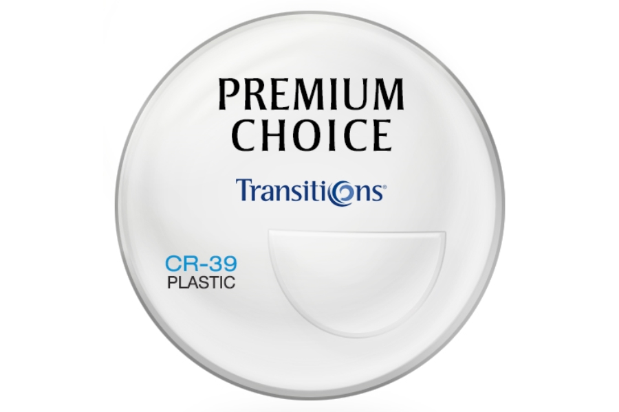 Premium Choice Transitions® Signature VII™ [Gray or Brown] Plastic CR-39 Bi-Focal FT-28 Lenses in Premium Choice Transitions® Signature VII™ [Gray or Brown] Plastic CR-39 Bi-Focal FT-28 Lenses