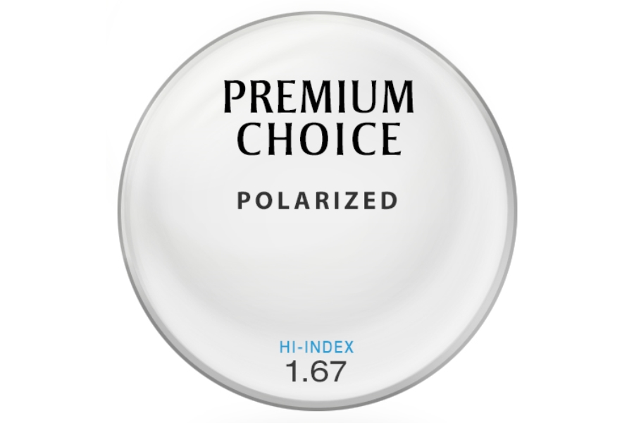 Premium Choice Polarized [Gray] Hi-Index 1.67 Lenses in Premium Choice Polarized [Gray] Hi-Index 1.67 Lenses