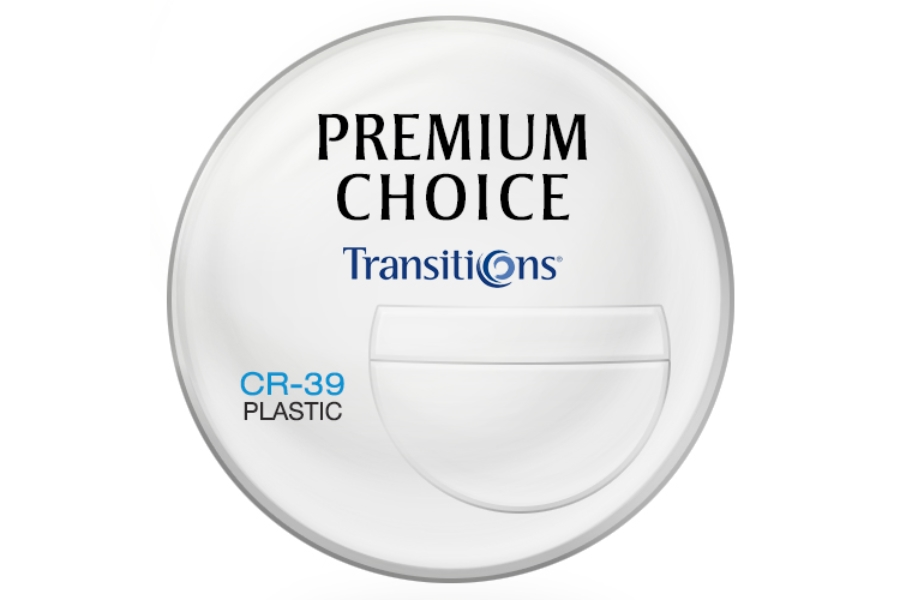 Premium Choice Transitions® Signature VII™I [Gray or Brown] 7x28 Plastic CR-39 Tri-Focal Lenses in Premium Choice Transitions® Signature VII™I [Gray or Brown] 7x28 Plastic CR-39 Tri-Focal Lenses