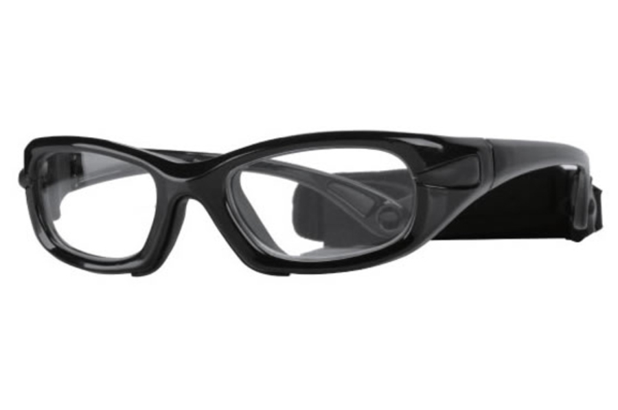 Progear Eyeguard EG-L 1030 Goggles in Shiny Metallic Black