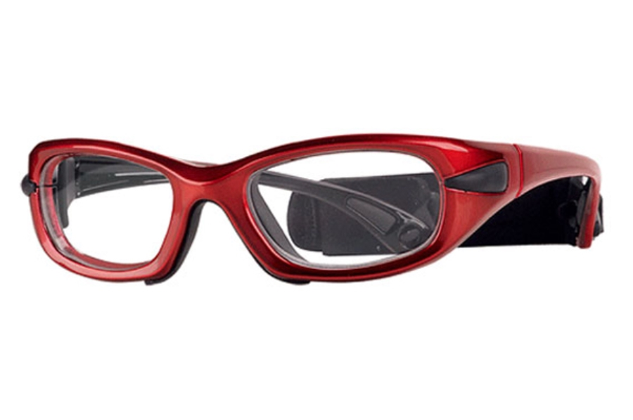 Progear Eyeguard EG-M 1020 Goggles in Shiny Metallic Red