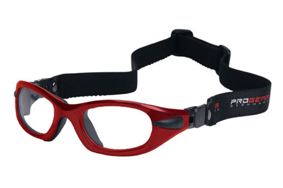 Progear Eyeguard EG-S 1011 Goggles in Shiny Metallic Red