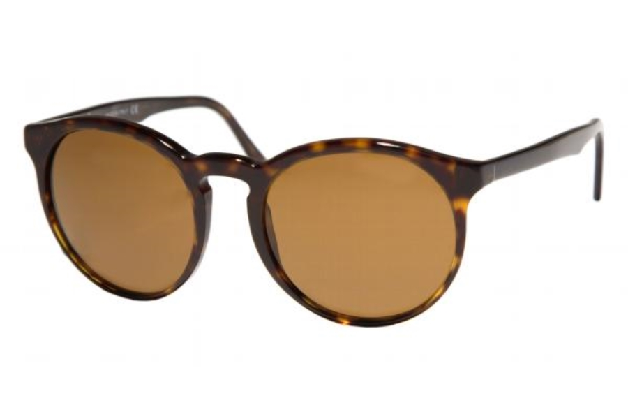 Ralph Lauren Purple Label PL 9758 Sunglasses in 500/353 Havana w/Blue Mirrored Silver Gradient Lenses