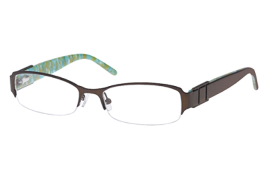 Rampage R 136 Eyeglasses in Satin Brown