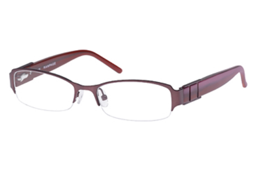 Rampage R 136 Eyeglasses in Satin Burgundy