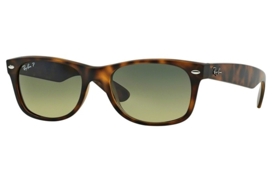 Ray-Ban RB 2132 Polarized Sunglasses in 894/76 Matte Havana Blue/Green Mirror Polarized  (52 & 55 Eye)