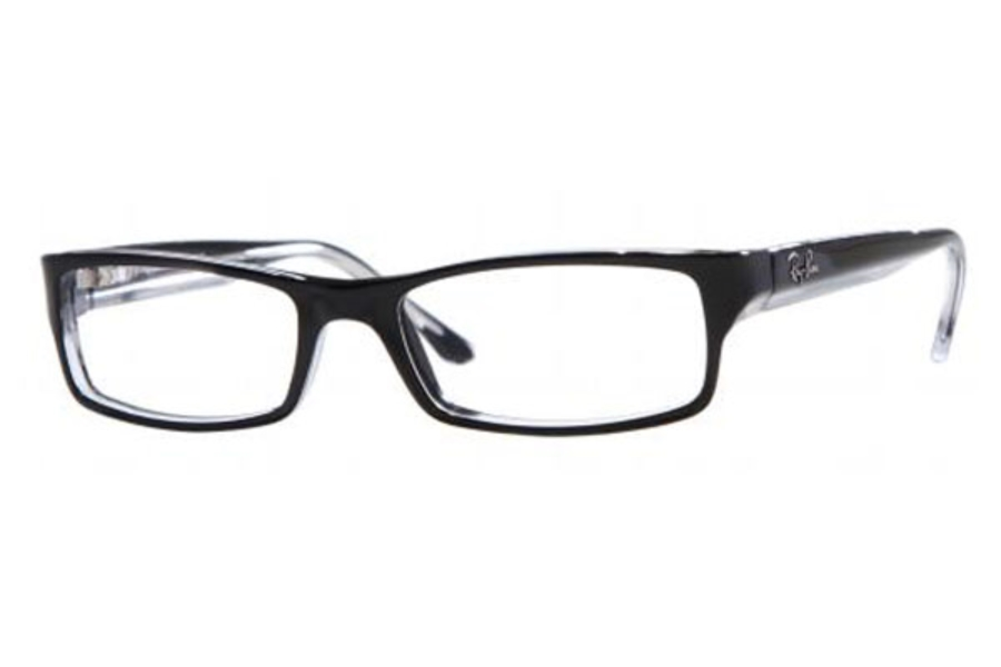 Ray-Ban RX 5114 Eyeglasses in 2034 Black/Transparent (52 & 54 Eyesizes Only)