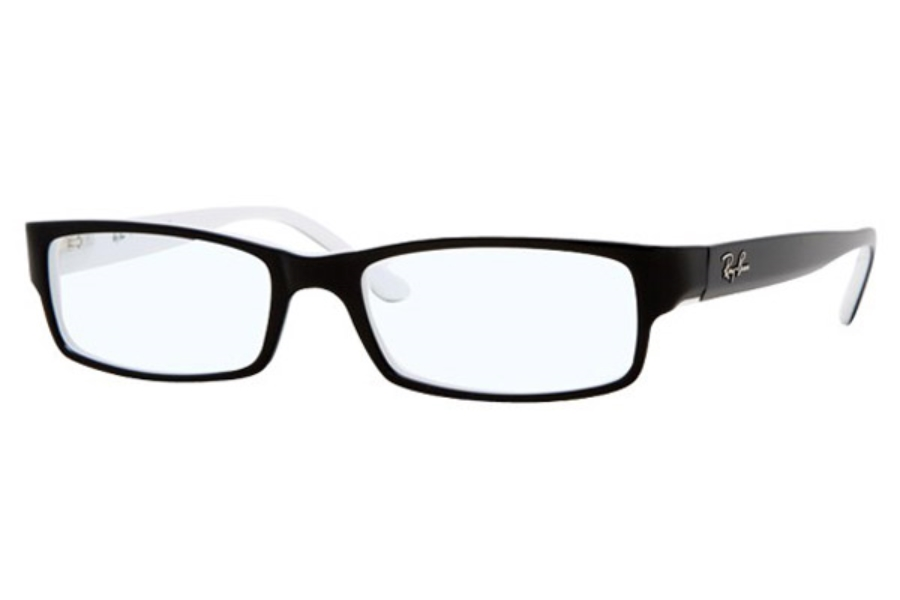 Ray-Ban RX 5114 Eyeglasses in 2097 Black/White (52 and 54 eyesize only)