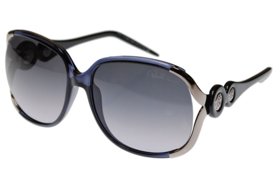 Roberto Cavalli RC589S GERBERA Sunglasses in VIOLET RUTHENIUM BLACK/GREY VIOLET SHADED (20F)