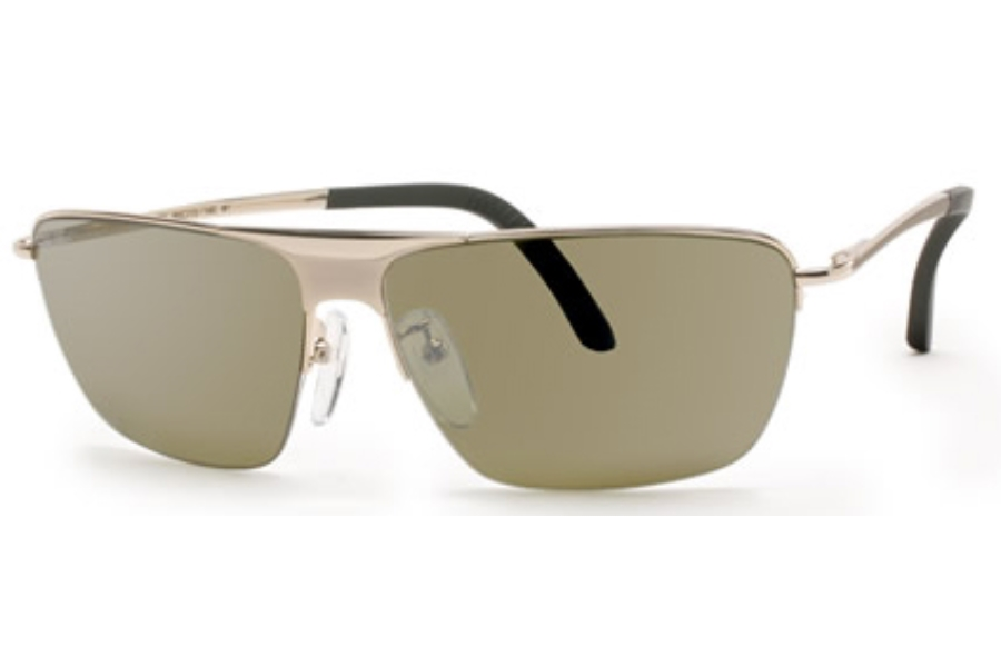 Rec Specs Par Sunglasses in Gold