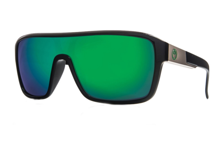Dragon DR REMIX 1 Sunglasses in Jet / Green Ion Performance Polar