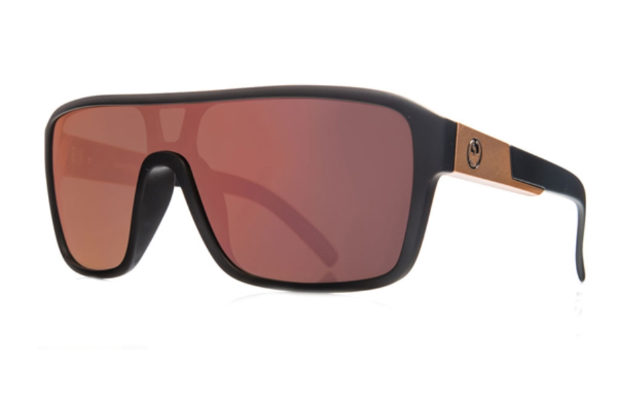 Dragon DR REMIX 1 Sunglasses in Matte Black / Rose Gold Ion