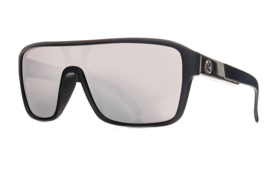 Dragon DR REMIX 1 Sunglasses in Matte Black / Silver Ion
