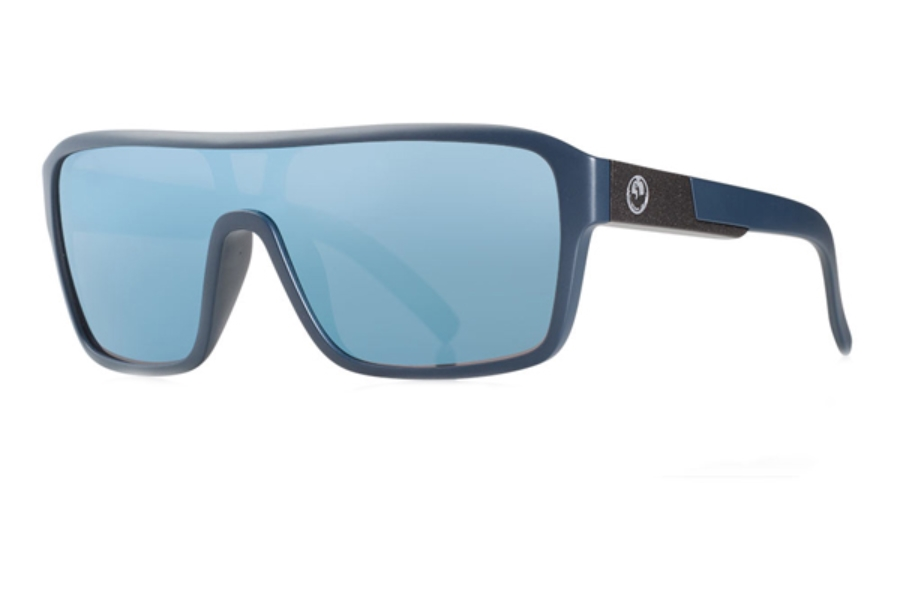 Dragon DR REMIX 1 Sunglasses in Matte Deep Navy / Blue Sky Ion