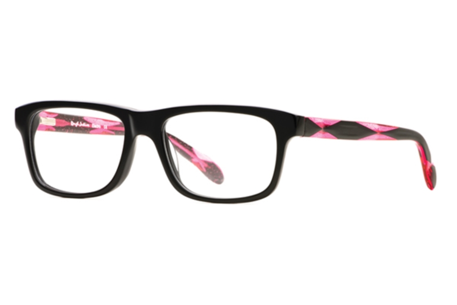 Rough Justice Electro Eyeglasses in Brilliant Black