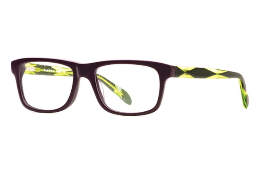 Rough Justice Electro Eyeglasses in ELEC0053PU Dazzling Purple