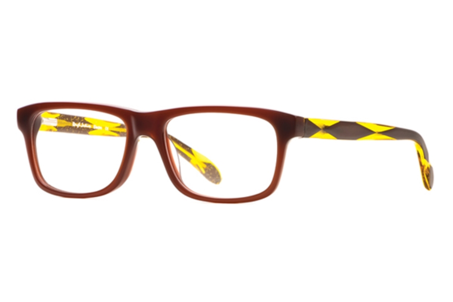 Rough Justice Electro Eyeglasses in ELEC0053BN Radiant Brown
