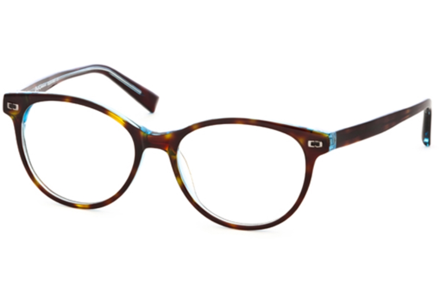 Rough Justice Drama Eyeglasses in Tort/Blue