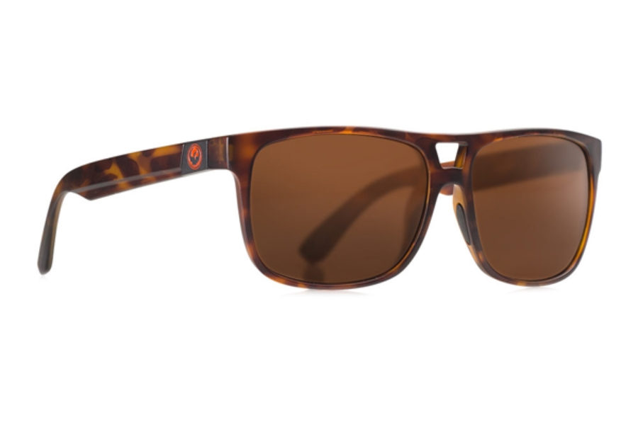 Dragon ROADBLOCK Sunglasses in Matte Tortoise / Brown